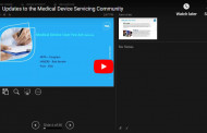 Updates to the Medical Device Servicing Community