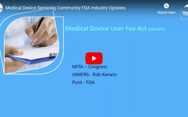 Medical Device Servicing Community/FDA Industry Updates
