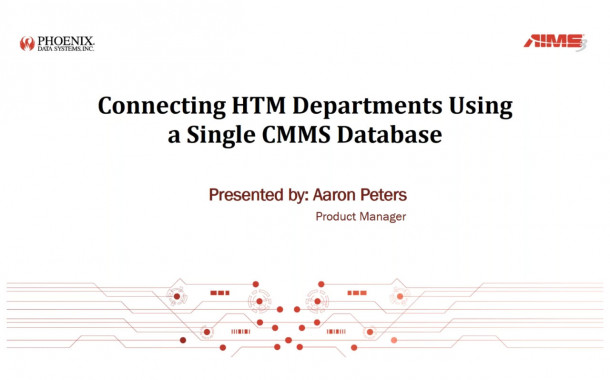 Connecting HTM Departments Using a Single CMMS Database