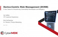 Device-Centric Risk Management (DCRM): 5 Use Cases for Streamlining Vulnerability Remediation and Mitigation