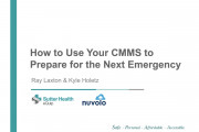 How to Use Your CMMS to Prepare for the Next Emergency