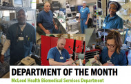 Department of the Month: McLeod Health Biomedical Services Department