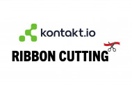 Ribbon Cutting: Kontakt.io