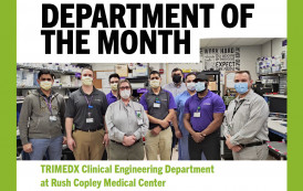 Department of the Month: TRIMEDX Clinical Engineering Department at Rush Copley Medical Center