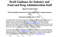 FDA Extends Comment Period for 'Remanufacturing' Draft Guidance