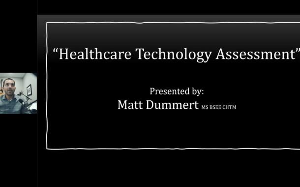 Webinar Explores Technology Assessment Process