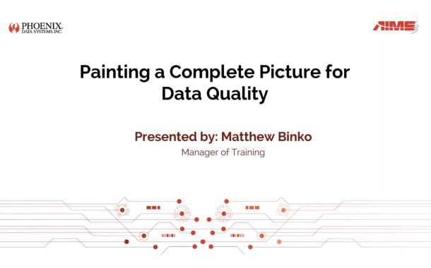 Webinar Addresses Data Quality and CMMS