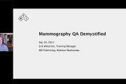 Mammography QA Demystified