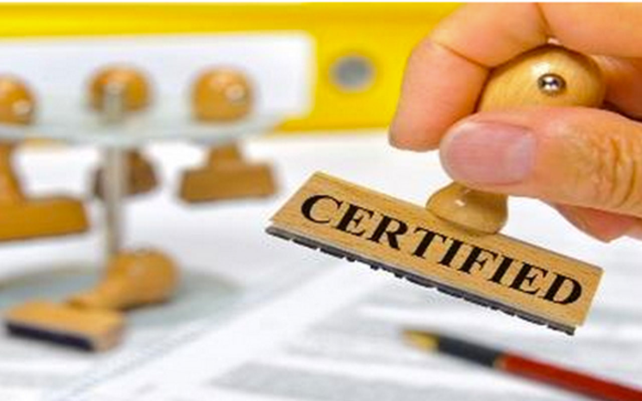 Certification a Requirement – What a Concept!