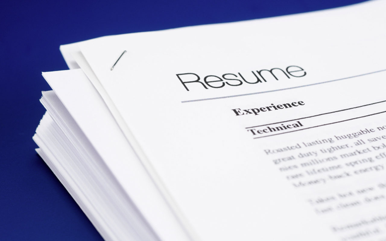 Career Center: Rules of Thumb for Resume Writing