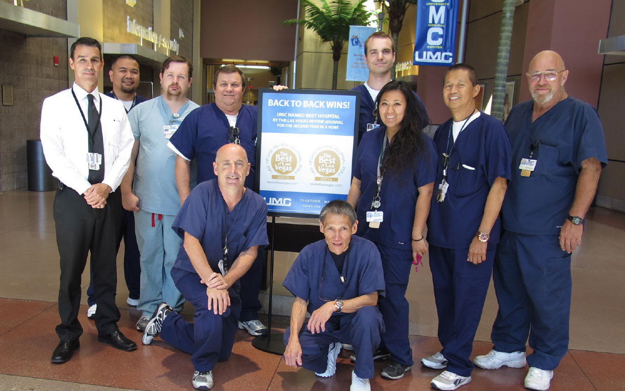 Department Profile: University Medical Center Clinical Engineering