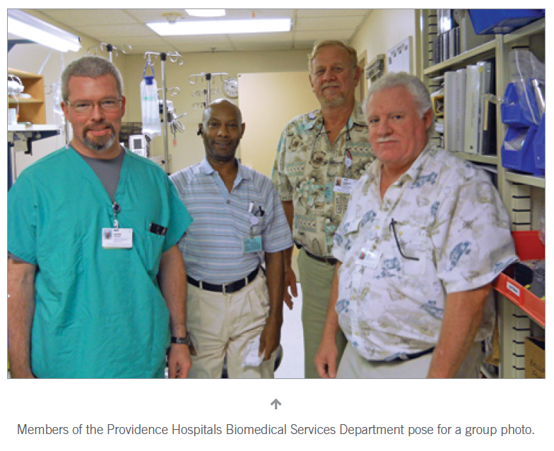 TechNation | Department of the Month | Providence Hospital
