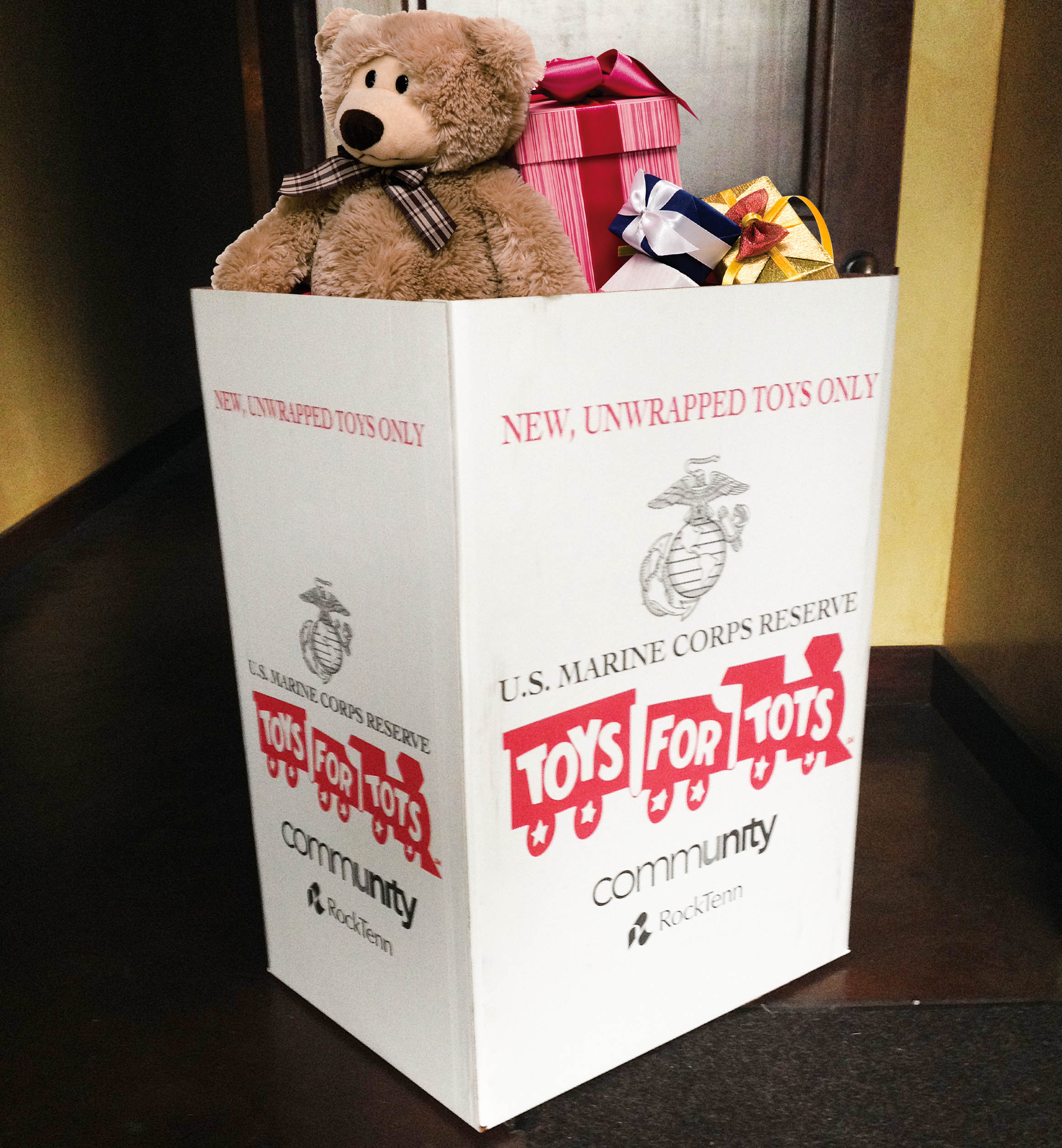Toys For Tots Box : Pacific medical helps toys for tots technation
