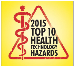Technation Magazine | ECRI Update | Introducing ECRI Institute's Top 10 Health Technology Hazards for 2015