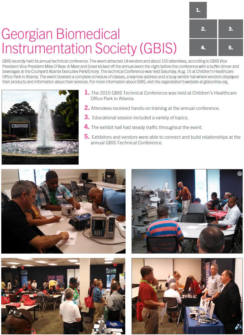 Technation Magazine   Scrapbook   Georgian Biomedical  Instrumentation Society (GBIS)
