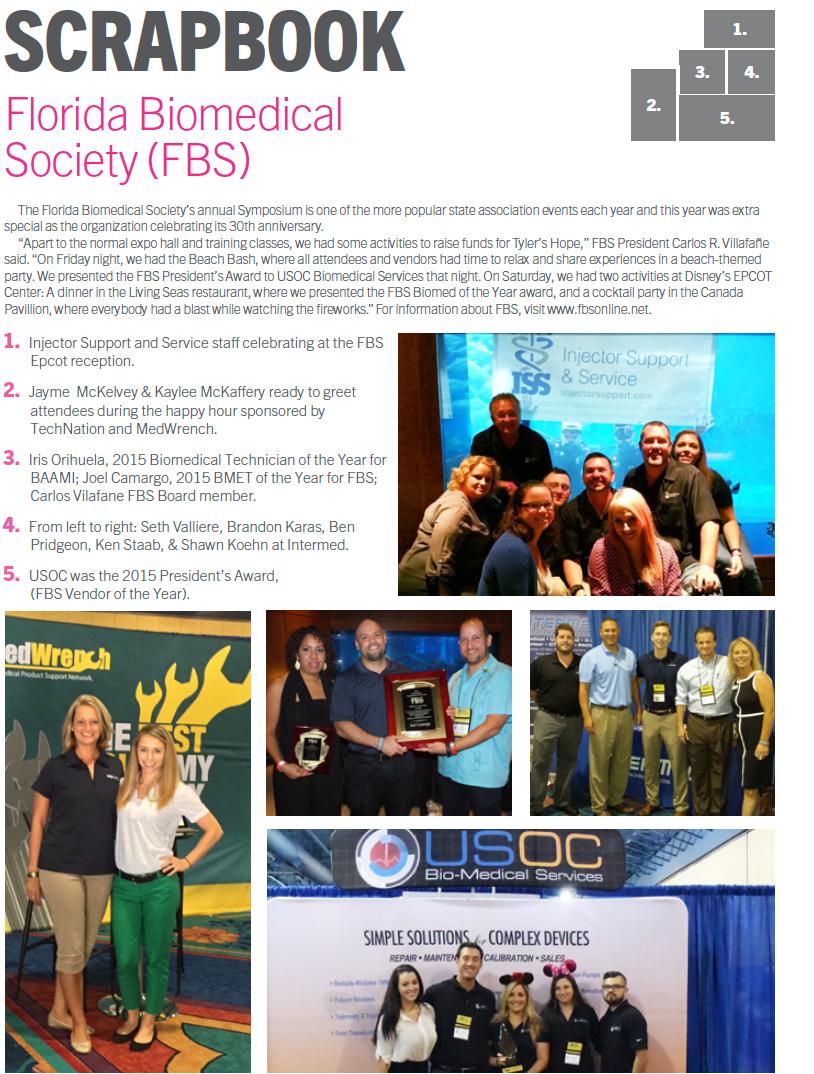Technation Magazine | Scrapbook | Florida Biomedical Society (FBS)