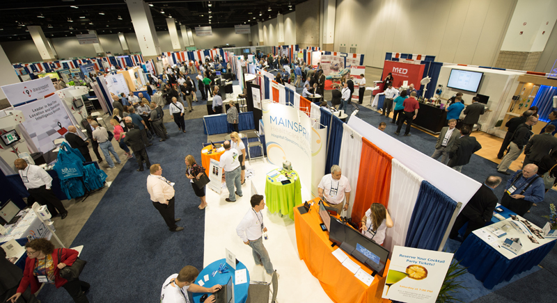 The Expo hall opens at noon on Friday, June 3rd.