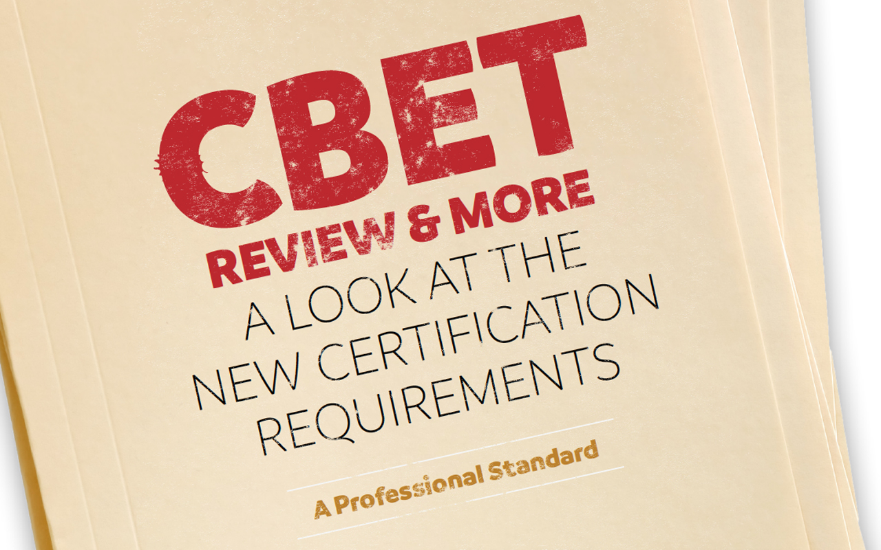 Roundtable On Redesigned Sat Test At >> Cbet Review More A Look At The New Certification Requirements