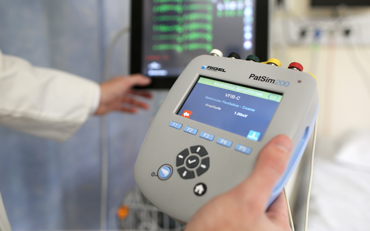 Tools of the Trade: Rigel Medical PatSim200