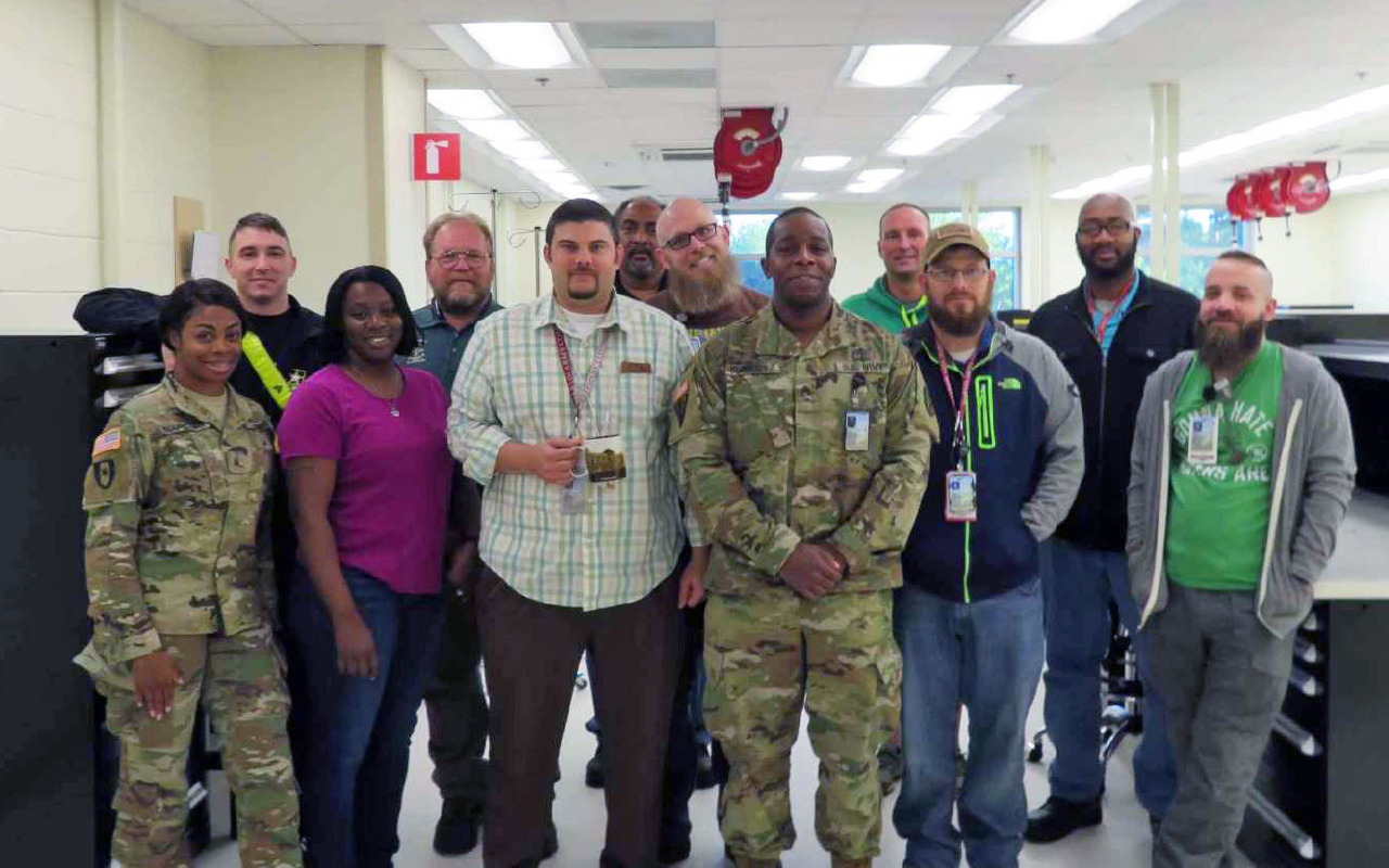 Department of the Month: The Martin Army Community Hospital Clinical Engineering Section