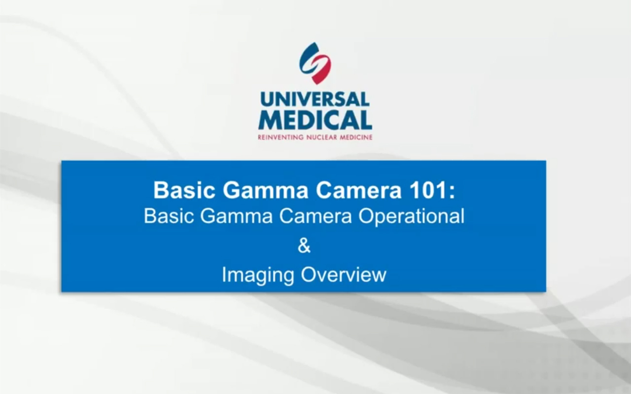 Gamma Camera Presentation Empowers Attendees