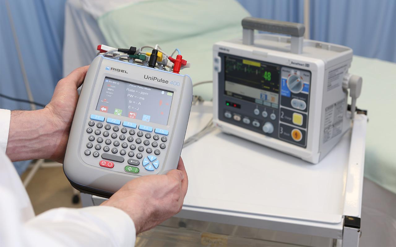 Rigel launches new defibrillator analyzer