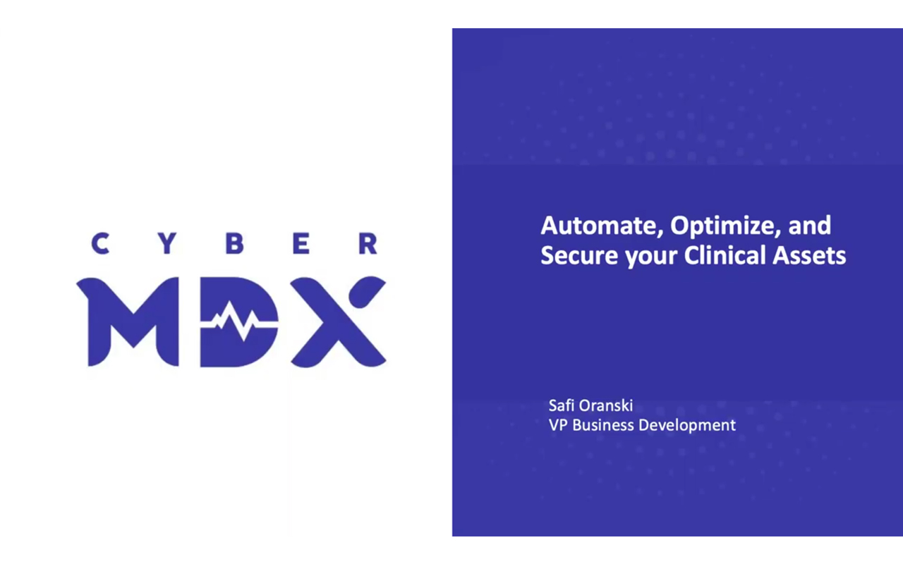 Automate, Optimize, And Secure Your Clinical Network