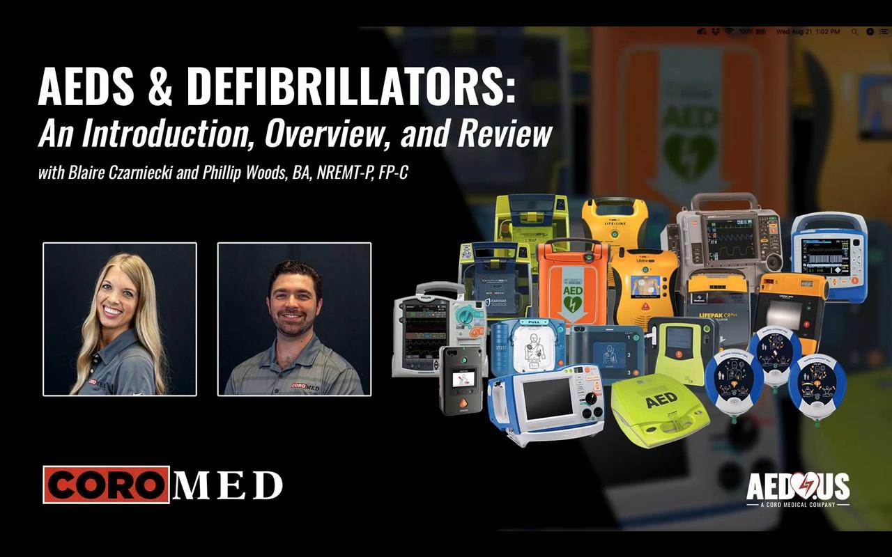Webinar Shares AED, Defibrillator Insights
