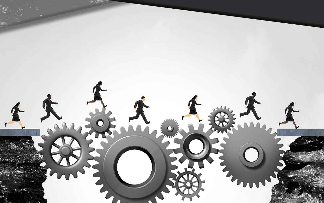 Teamwork Concept: Bridge Communication Gaps Between Hospital Departments