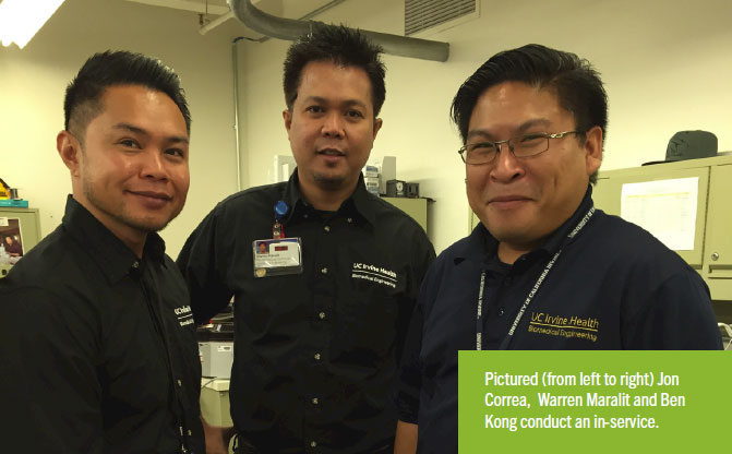 Department of the Month: UCI Medical Center Biomedical Engineering Department
