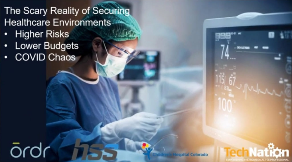 Higher Risks, Lower Budgets, Covid Chaos: The Scary Reality of Securing Healthcare Environments