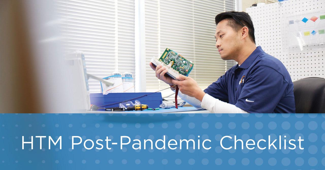 HTM Post-Pandemic Checklist