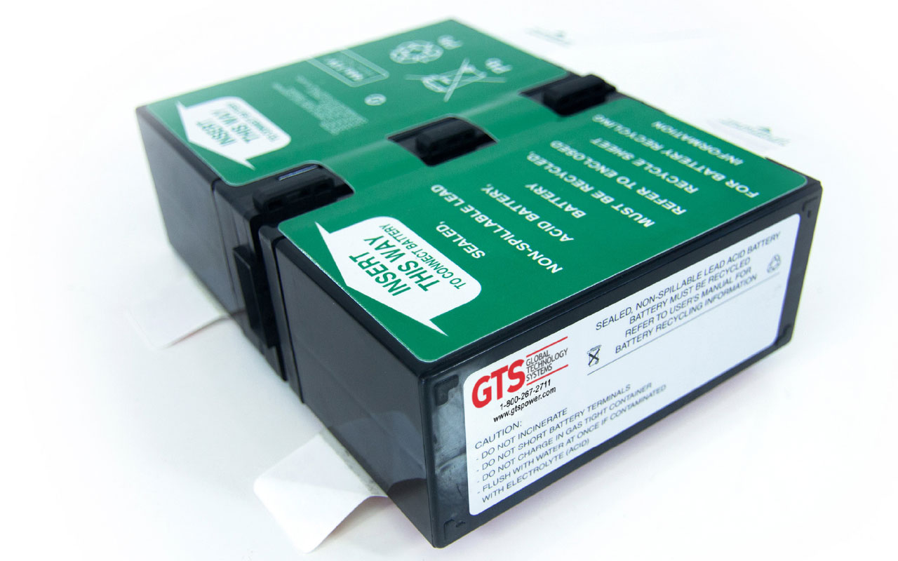 Global Technology Systems UPS Systems Replacement Batteries