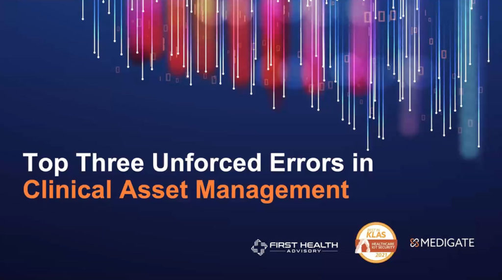 Top Three Unforced Errors in Connected Asset Management