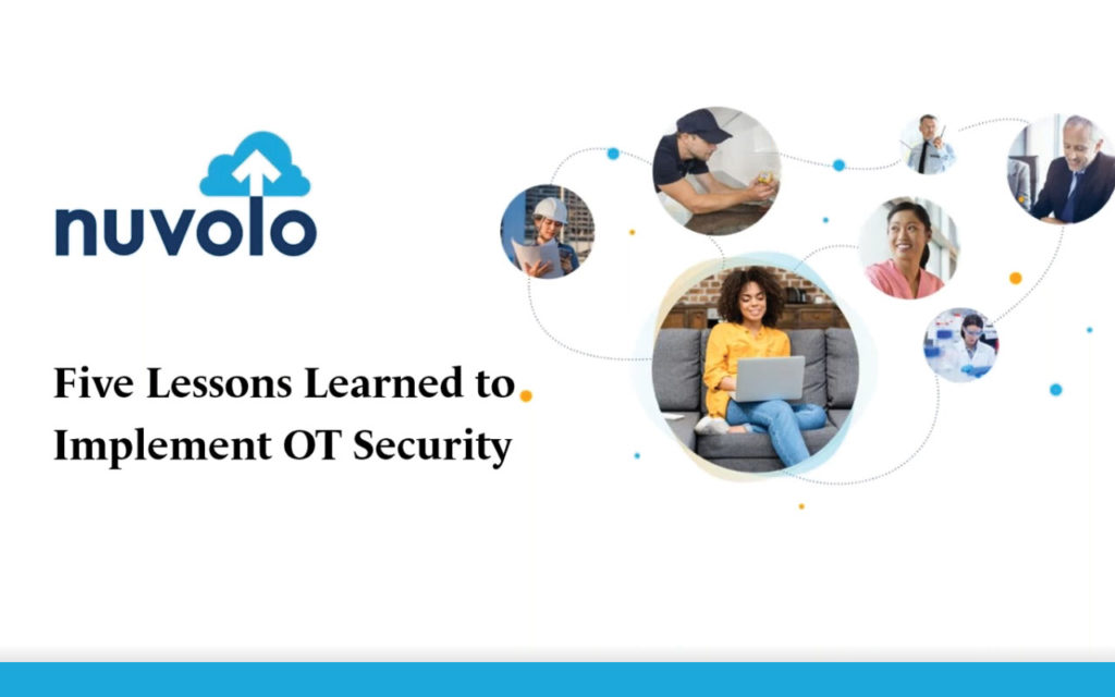 Five Lessons Learned to Implement OT Security